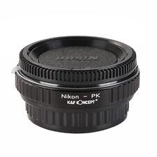 VETRO ottico anello adattatore per lente Nikon Per Pentax PK-R K K-M K-10D K-30/20D