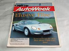 autoweek 1996 Car Truck RIVISTA Elusive ELISE Lotus, DAYTONA, NHRA , ACURA , KIA
