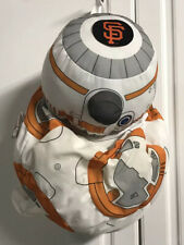 NWT San Francisco SF Giants Star Wars Disney BB-8 Backpack Bag