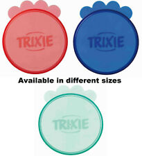 TRIXIE PLASTIC DOG AND CAT FOOD COVER LIDS KEEPS TINNED FOOD FRESH 2 SIZES PET