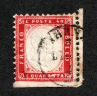 Italy - Sc# 40 Used       /         Lot 1220109