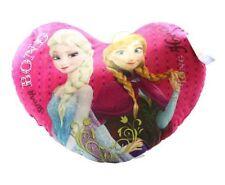 DISNEY congelato Cuscino 52 cm personaggio Elsa & Anna Cuore Cuscino