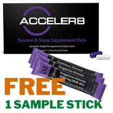 BEPIC Acceler8 60 capsules & FREE B-KETO SAMPLE**SAME DAY SHIPPING**