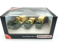 PANZERKAMPF 1/72 PZK-12176 Iron Dome 3-Vehicle Set Israel Defense Forces, 2015