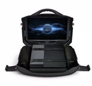 GAEMS Vanguard Portable Gaming Monitor for Xbox, PlayStation, Switch, Black -EUC
