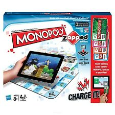 Monopoly zAPPed - Way to Play with Apple Devices Electronic Banking - Game Board