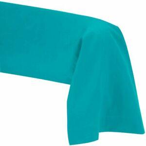 Taie de Traversin 45 x 185 cm - Turquoise