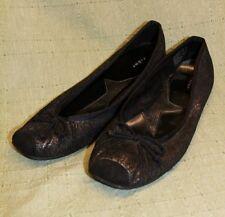 Fioni Size 9 M Women's Flats Black Bow Glitter Star Converse Rick Owens Vans