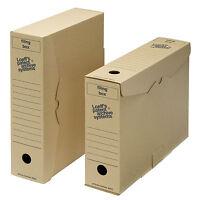 Archival Filing Storage Box - Foolscap