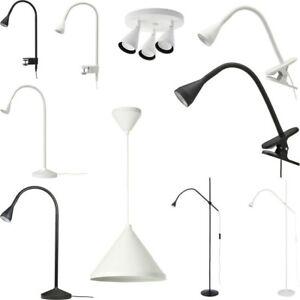Ikea NÄVLINGE LED Clamp Spotlight Wall/Clamp Ceiling / Floor / Read Work Lamp