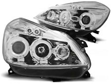RENAULT CLIO 3 2005 2006 2007 2008 2009 HEADLIGHTS LPRE27 ANGEL EYES