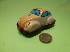 JAPAN YONE TIN TOY 2181 VW VOLKSWAGEN BEETLE - FIRE CHIEF - WINDUP - NICE