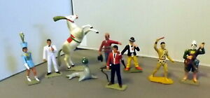 9 Piece Starlux 60mm Circus Performers RARE!