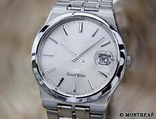 Seiko Grand Seiko GS 8N65-9010 Quartz Made in Japan Stainless Steel Watch MA80b