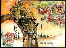 ANGOLA, #876, MNH, VF, PERFORATE, 1993 - ISSUED FOR AFRICA DAY.