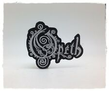 New Opeth Patch Embroidered Sew Iron On Swedish Heavy Metal Rock Band Music Logo