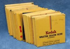 KODAK WRATTEN 3x3 FILTERS - 2ND HAND, INSPECTED - YOUR CHOICE $14.99 EA SHIPPED