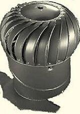 """Air Vent 52608 WTI12WX 12"""" Weatherwood Galvanized Turbine Attic Ventilator"""