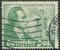 Berlin Nr. 61 I gestempelt Plattenfehler Michel 150,00 € Goethe Jahr 1949 used