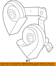 FORD OEM 09-14 F-150-Horn 9L3Z13832A