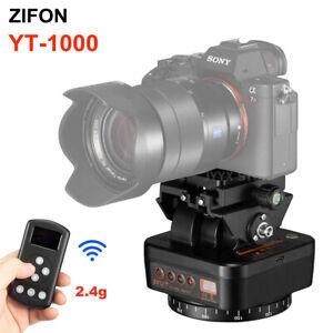 ZIFON YT-1000 2.4G Remote Control Pan Tilt Motorized Auto Panoramic Head fr DSLR
