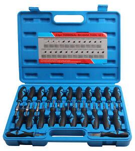 ISO Stecker Entriegelung Auspinnen Auspin Entriegeln KFZ Lösen Werkzeug 23 tlg