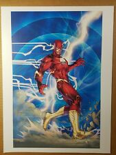 New ListingThe Flash 3 Dc Comics Poster by Jim Lee