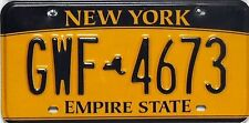 New York  License Plate, original Nummernschilder in sehr gutem Zustand.
