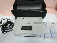 Epson EMP-1700 LCD Projektor mit Zubehör in sehr guten Zustand nur 272 Lampenst.