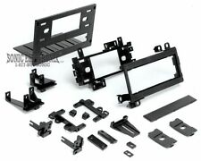 Scosche FCJ1276AB Single DIN Install Dash Kit for Select 74+ Chrysler/Dodge/Jeep