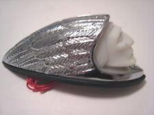 Indian Motorcycle 99-04 Chrome Front Warbonnet Fender Light, 66-037