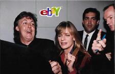 PAUL & LINDA McCARTNEY see her photo show-4 original 4x6 photos- Beatles, Wings