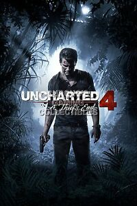 RGC Huge Poster - Uncharted 4 Thief's End Nathan PS4 PS3 XBOX ONE 360 - UCH035