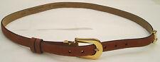 - AUTHENTIQUE  ceinture  TED LAPIDUS  cuir  TBEG  vintage