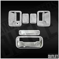 2008-2016 Ford F-250 Super Duty 2dr Chrome Door Handle Tailgate Cover Trim