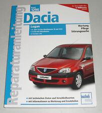 Reparaturanleitung Dacia Logan Benziner + Diesel + MCV, Baujahre ab 2004