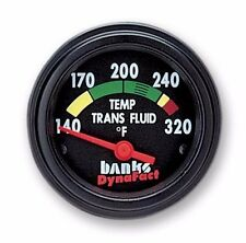 FITS FORD DODGE CHEVY BANKS DYNAFACT TRANSMISSION TEMP GAUGE..