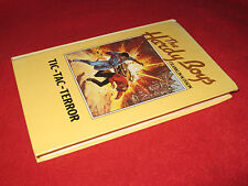 TIC-TAC-TERROR ~ Franklin W. Dixon. Hardy Boys  2 young detectives solve mystery