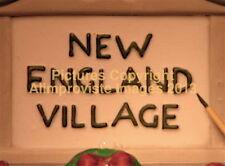 Dept 56 New England Village Fresh Paint Sign! 56592 NeW! Mint! FabUloUs!
