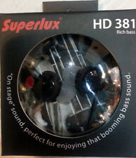 SUPERLUX Bass stereo In-Ear headphones HD381 by free shipping to worldwide