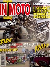 In Moto 7 1996 Segreti della super Honda. Suzuki DR 650 SE vs Yamaha TT 600 Q98]