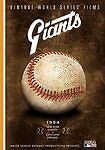 1954 New York NY Giants WORLD SERIES championship Johnny Antonelli baseball DVD