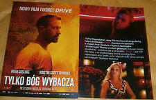 GLOSSY POLISH CINEMA FLYER - DRIVE