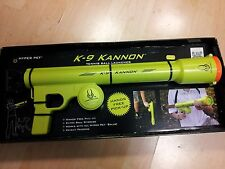 K9 Kannon Dog Tennis ball launcher thrower cannon. Shoots up to 75ft !!