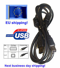 1.8m USB Cable 2.0 Type A-B Male 1,8m with a ferrite bead core