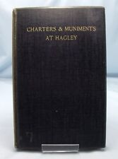 ANTIQUE CHARTERS HAGLEY VICTORIAN LTD ED LYTTELTON STOURBRIDGE WORCESTERSHIRE