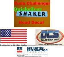1970 71 Dodge Challenger R/T Shaker Hood Decal 2998817 MoPar New