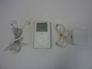 Apple iPod 2nd Second Generation 20GB A1019 Vintage 1134 Songs (Tested)