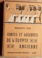 .(2332MD.0) CONTES ET LEGENDES DE L'EGYPTE ANCIENNE. MARGUERTE DIVIN. NATHAN