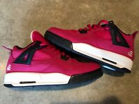 Air Jordan 4 Retro GS 'Voltage Cherry' Youth Sneakers - Size 6.5